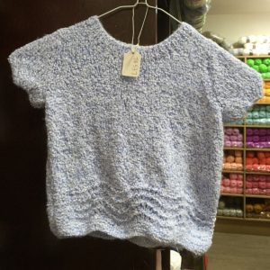 James C Brett Bubalicious DK yarn, garment photo child's jumper