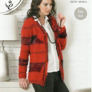 King Cole knitting pattern 4327 for Urban yarn