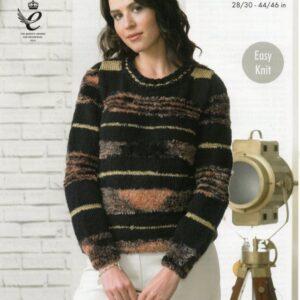 King Cole knitting pattern 4328 for Urban yarn