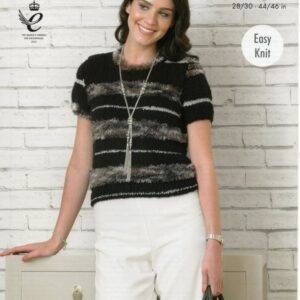 King Cole knitting pattern 4330 for Urban yarn