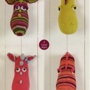 Stylecraft DK yarn toy knitting pattern 9216