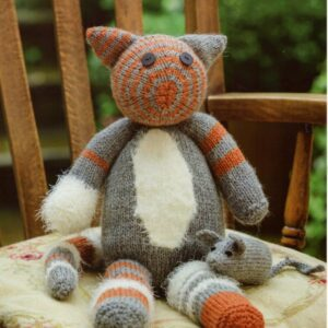 Stylecraft DK yarn toy knitting pattern 9235
