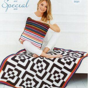 Stylecraft Jeanie & Special Aran pattern 9527