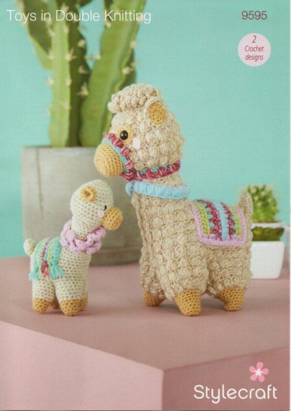 Stylecraft DK yarn toy crochet pattern 9595