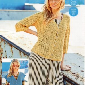 Stylecraft Linen Drape knitting pattern 9630