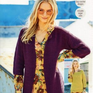 Stylecraft Linen Drape knitting pattern 9632