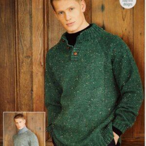 Stylecraft Life DK knitting pattern 9653