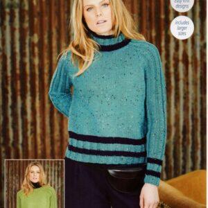 Stylecraft Life DK knitting pattern 9654