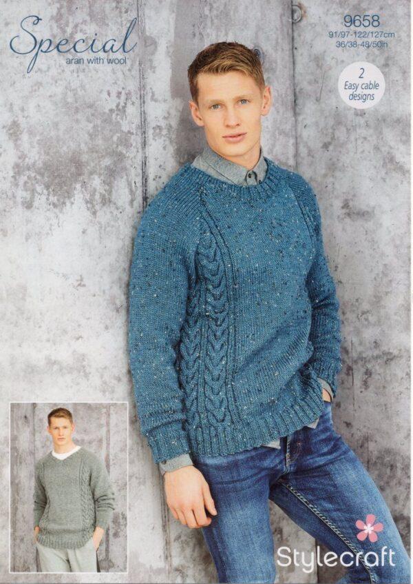 Stylecraft Special Aran with Wool 9658