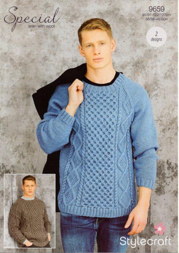 Stylecraft Special Aran with Wool 9659