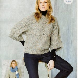 Stylecraft Special Aran with Wool knitting pattern 9663