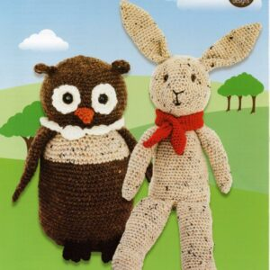 Stylecraft DK yarn toy crochet pattern 9666