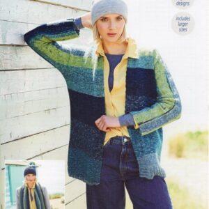 Stylecraft Batik Swirl DK knitting pattern 9673