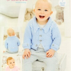 Stylecraft Special for Baby DK knitting pattern 9680
