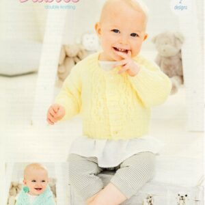 Stylecraft Special for Baby DK knitting pattern 9681
