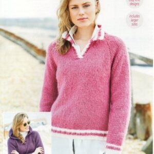 Stylecraft Cosy Delight knitting pattern 9685