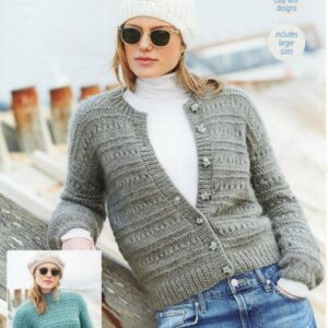 Stylecraft Cosy Delight knitting pattern 9687