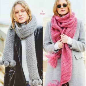 Stylecraft Cosy Delight knitting pattern 9688