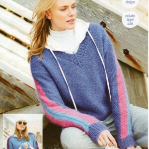 Stylecraft Cosy Delight knitting pattern 9689