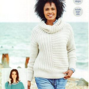 Stylecraft Bellissima chunky yarn knitting pattern 9690