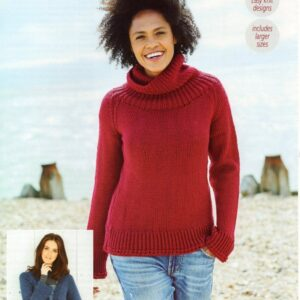 Stylecraft Bellissima chunky yarn knitting pattern 9691