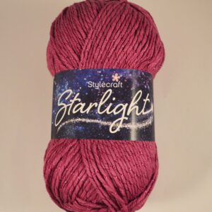 Stylecraft Starlight Aran weight yarn