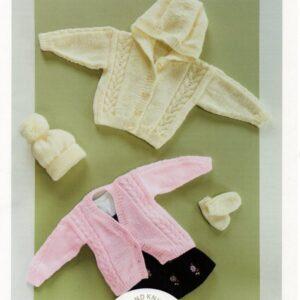 UKHKA 196 DK knitting pattern