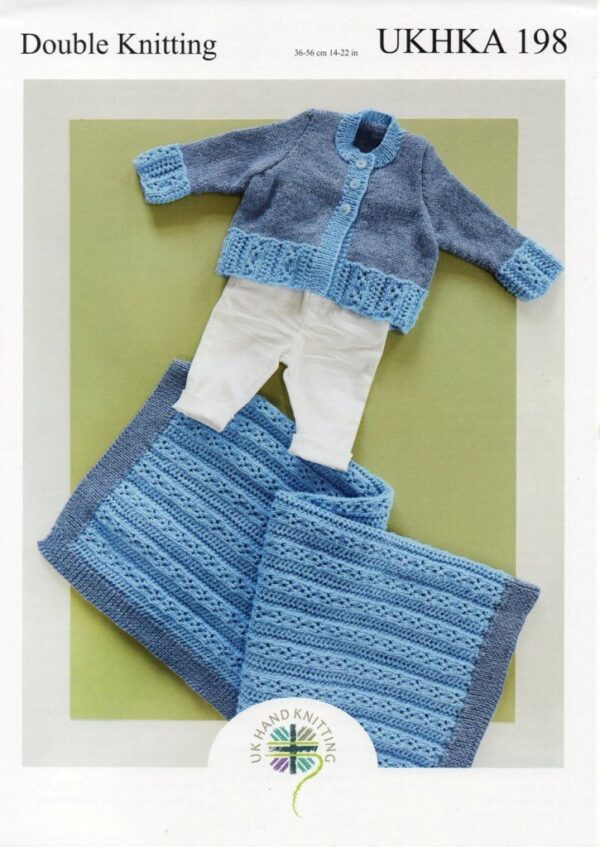 UKHKA 198 DK knitting pattern