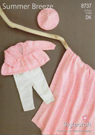 Stylecraft DK yarn pattern 8737