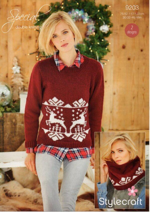 Stylecraft Special DK yarn pattern 9203