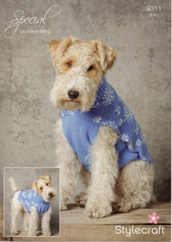 Stylecraft Special DK yarn pattern 9310