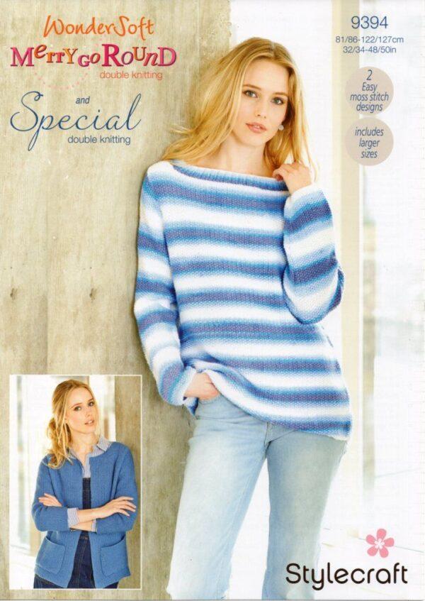 Stylecraft Special DK yarn pattern 9394