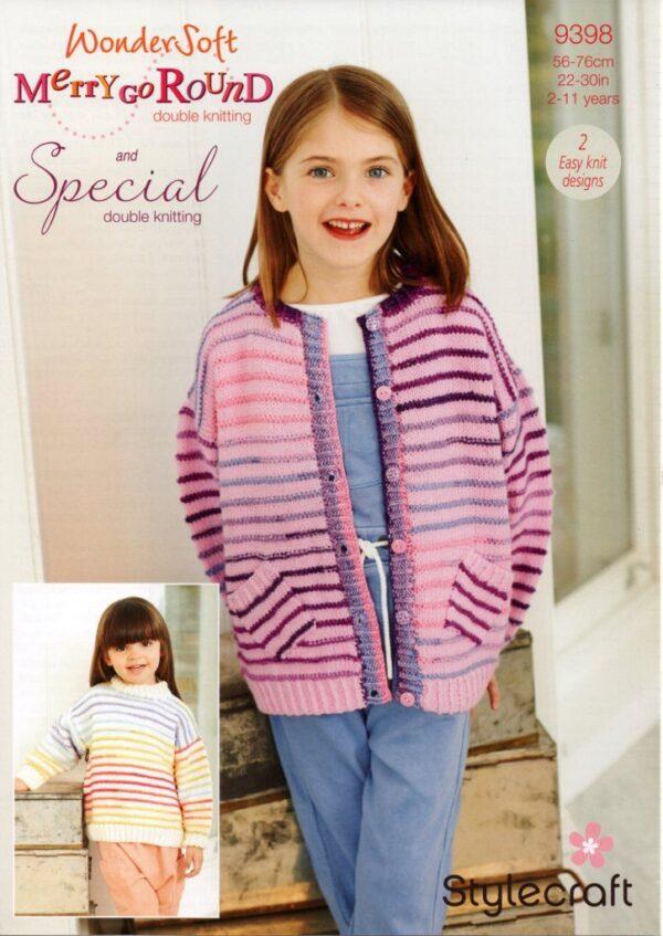 Stylecraft Special DK yarn pattern 9398