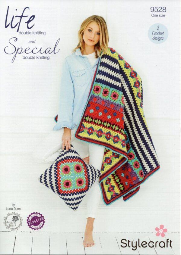 Stylecraft Special DK yarn pattern 9528