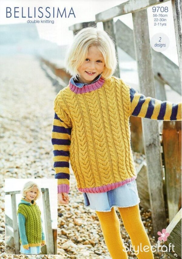 Stylecraft Bellissima yarn pattern 9708