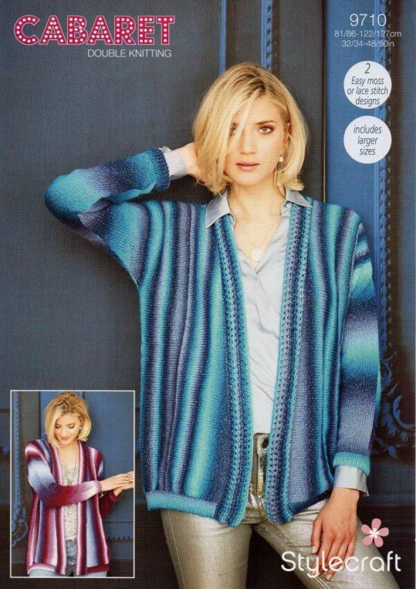 Stylecraft Cabaret yarn pattern 9710