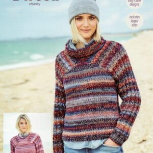 Stylecraft Carnival Tweed yarn pattern 9713