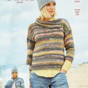 Stylecraft Carnival Tweed yarn pattern 9714