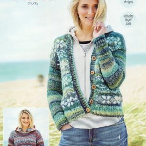 Stylecraft Carnival Tweed yarn pattern 9715
