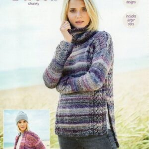 Stylecraft Carnival Tweed yarn pattern 9716