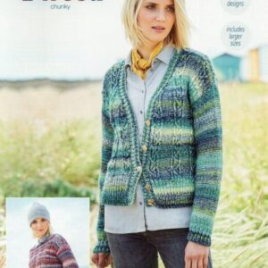 Stylecraft Carnival Tweed yarn pattern 9717