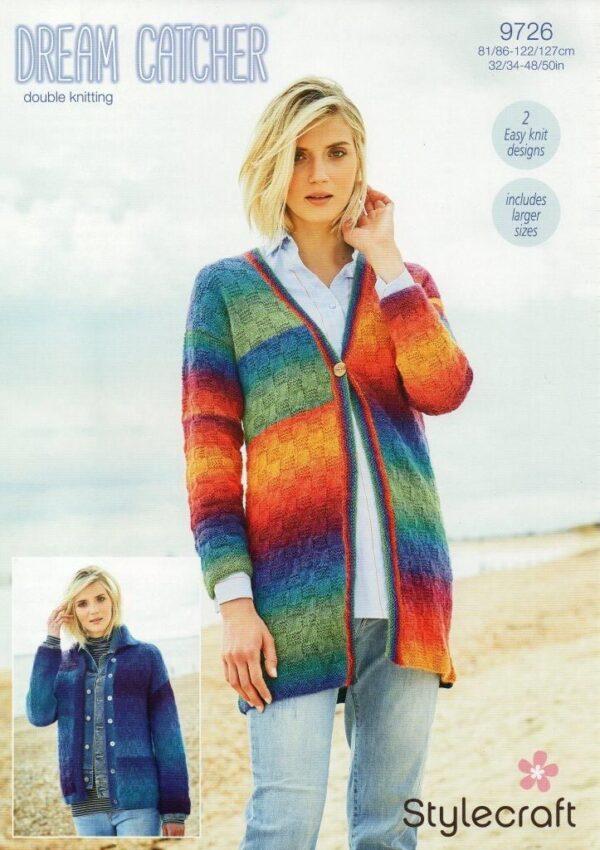 Stylecraft Dream Catcher yarn pattern 9726