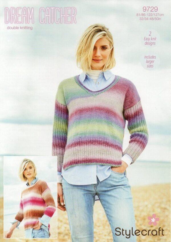 Stylecraft Dream Catcher yarn pattern 9729