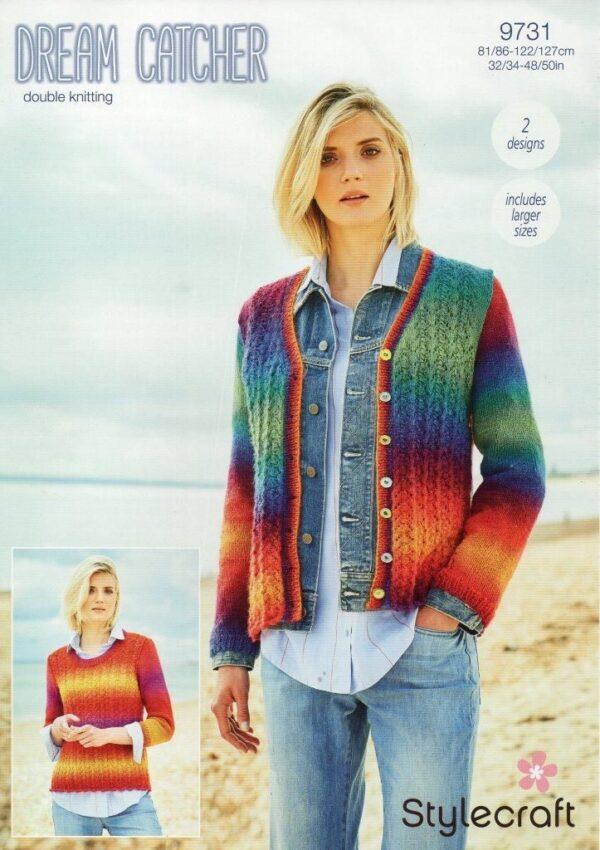 Stylecraft Dream Catcher yarn pattern 9731