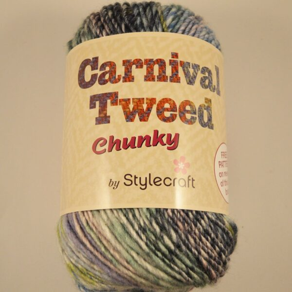 Stylecraft Carnival Tweed chunky yarn