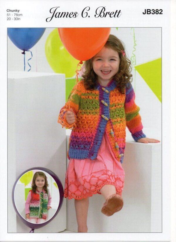 James C Brett Party Time yarn pattern JB382