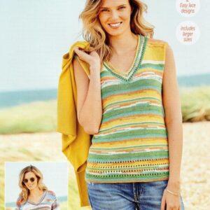 Stylecraft Regatta DK yarn pattern 9736
