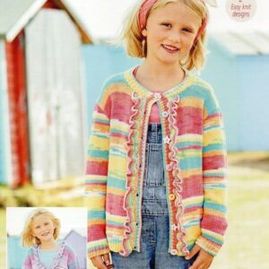 Stylecraft Regatta DK yarn pattern 9743