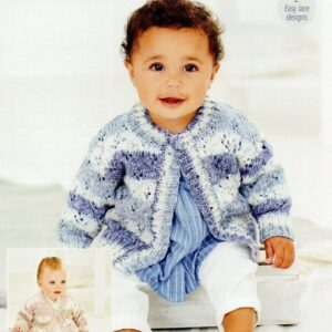 Stylecraft Bambino Prints DK baby yarn pattern 9746