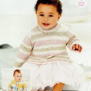 Stylecraft Bambino Prints DK baby yarn pattern 9747